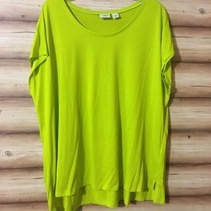 Never worn, 65% polyester 35% Rayon pullover